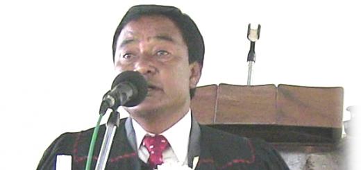 U Rev. Manbha Syiemlieh
