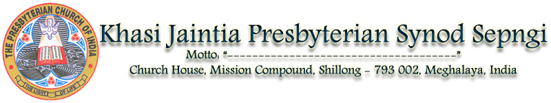 Khasi Jaintia Presbyterian Synod Sepngi